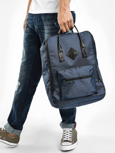 KOOVS Zipper Pocket Backpack