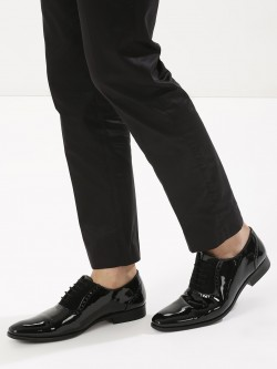 Griffin Patent Upper Oxford Shoes