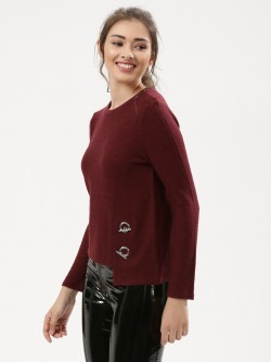 Urban Bliss Asymmetric Hem Jumper