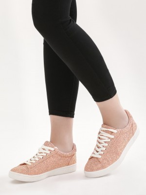New Look All Over Glitter Shoes offer