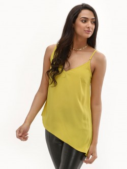 New Look Asymmetrical Trim Cami Top