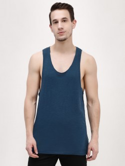 KOOVS Raw Edge Racer Back Vest