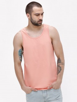 KOOVS Basic Scoop Neck Vest