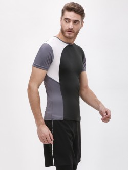 K ACTIVE KOOVS  Cut & Sew Panel T-Shirt