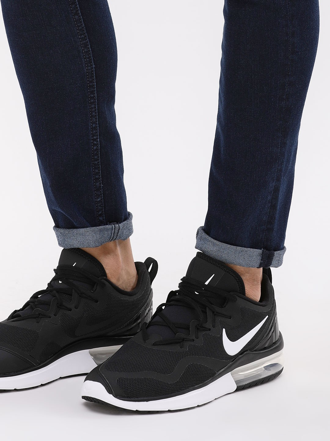 womens nike air max fury black shoes for discount