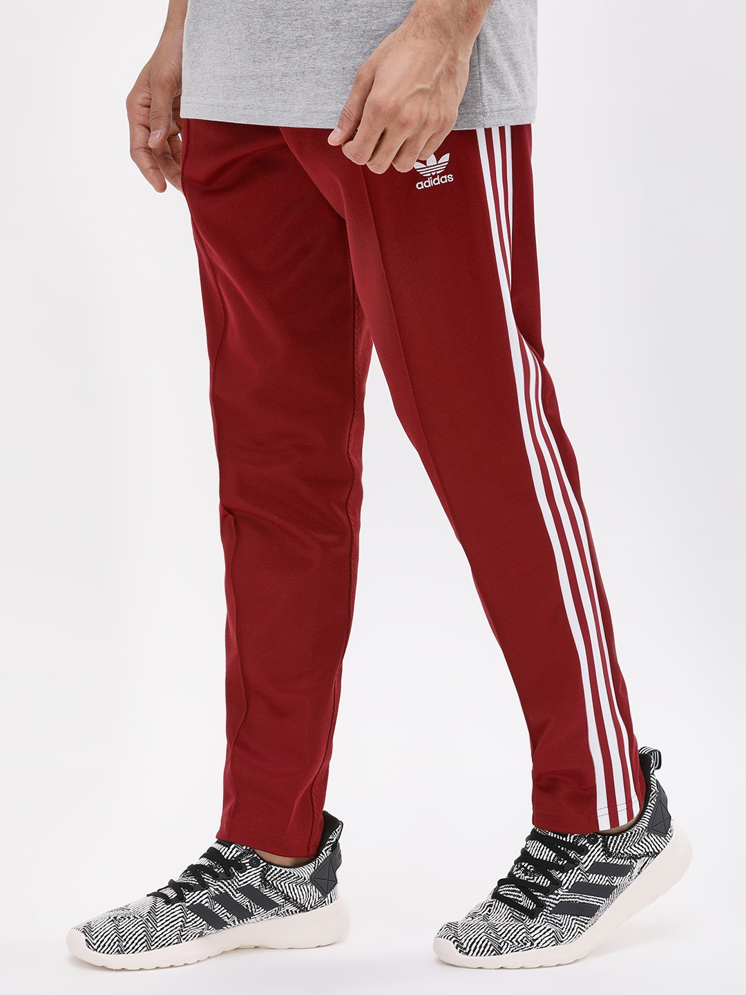 Buy Adidas Originals Red Franz Beckenbauer Track Pants for