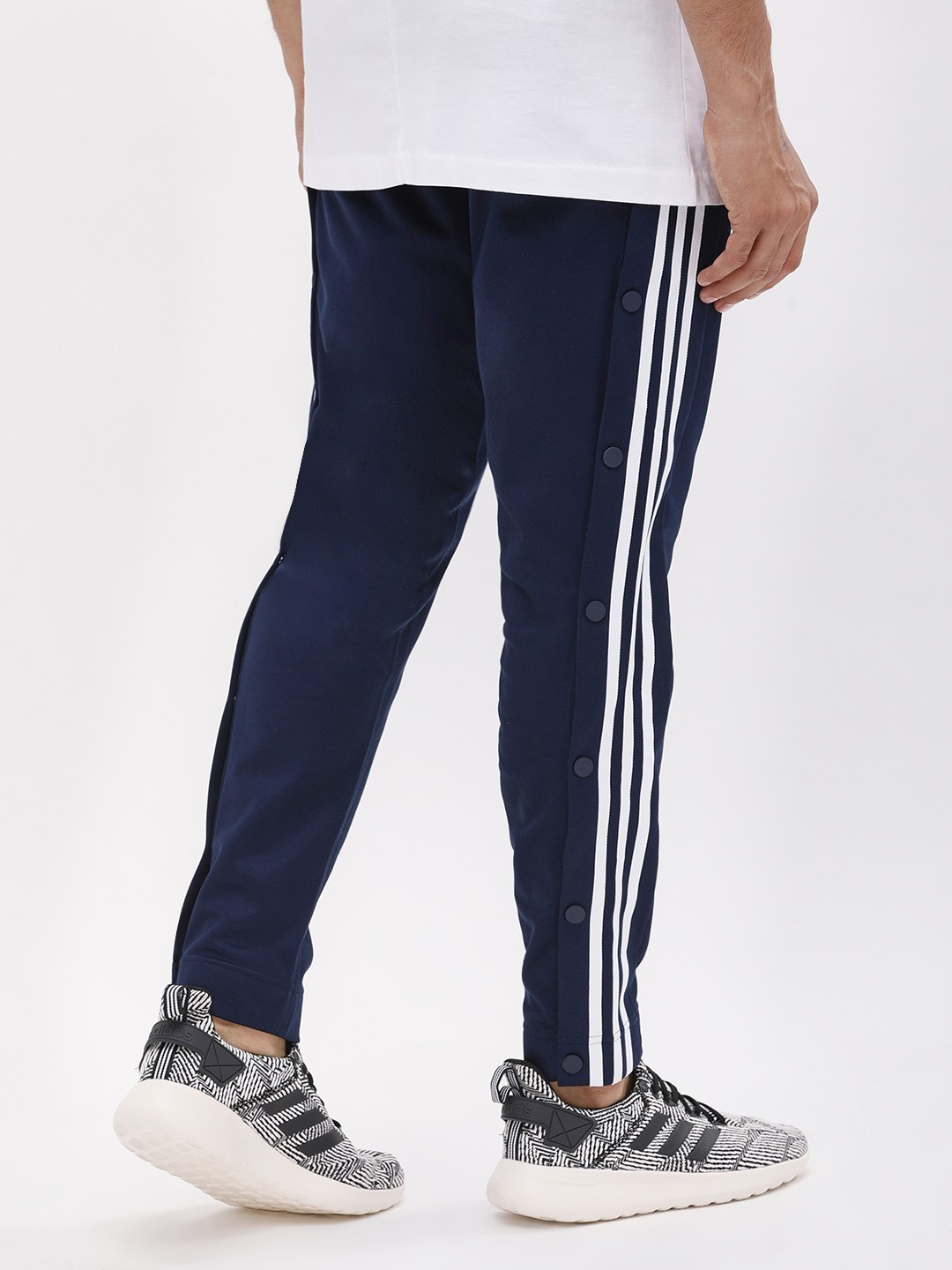 limited price where to buy good quality Buy Adidas Originals Blue Snap Pants for Men Online in India