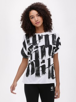 REEBOK Printed Oversized T-Shirt