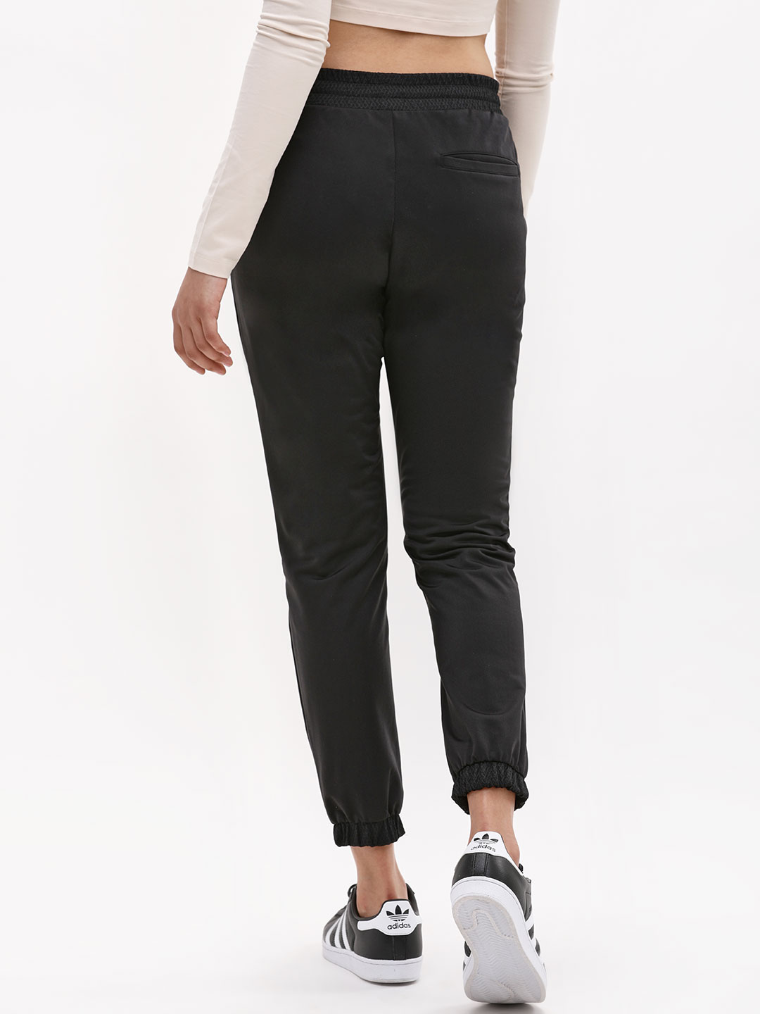 Buy Adidas Originals Black Clrdo Trackpants for Girls Online