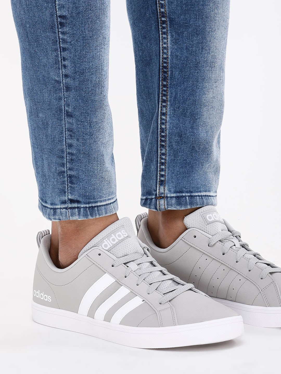 Buy Adidas Grey Basketball VS Pace Sneakers for Men Online