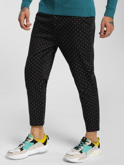 Spring Break Polka Dot Cropped Slim Trousers