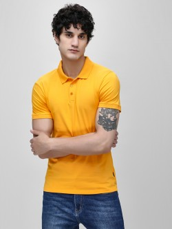 KOOVS Muscle Fit Jersey Polo Shirt