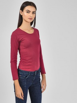 KOOVS Basic Long Sleeve T-Shirt