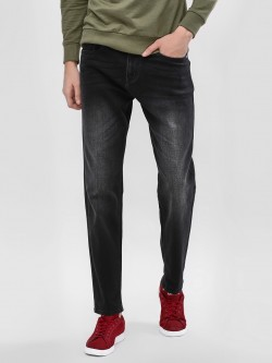 K Denim KOOVS  Washed Slim Fit Jeans