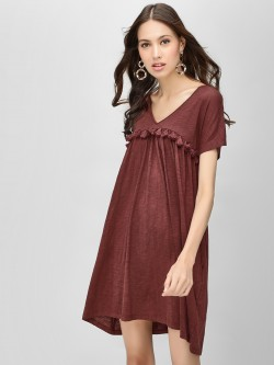 KOOVS Tassel Detail Tunic Dress