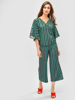 KOOVS All Over Striped Culottes
