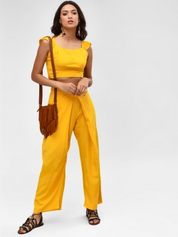 Rena Love Pleated Front Palazzo Pants