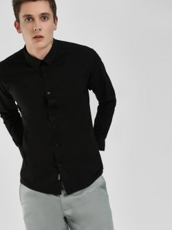 KOOVS Long Sleeve Poplin Shirt