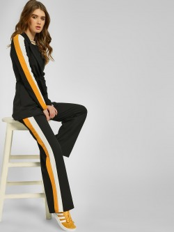 Quiz Contrast Side Stripe Palazzo Trousers