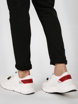 Kindred Contrast Slogan Tape Lazer Sneakers