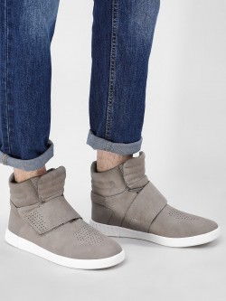 Kindred Suede Hi-Top Cuffed Shoes