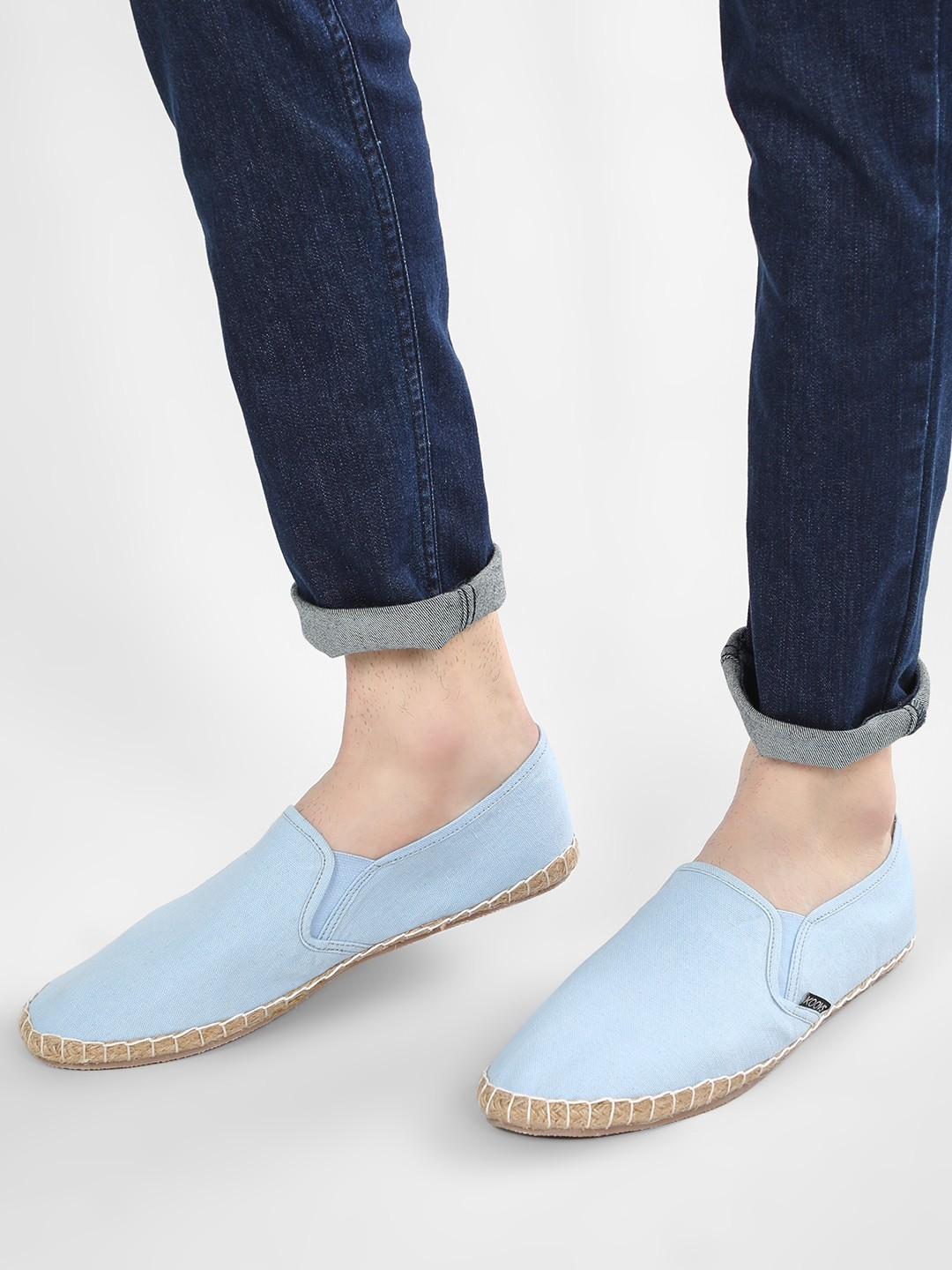 KOOVS Blue Basic Canvas Espadrilles 1