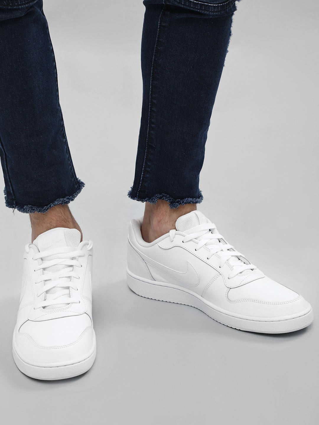 White Ebernon Low Sneakers