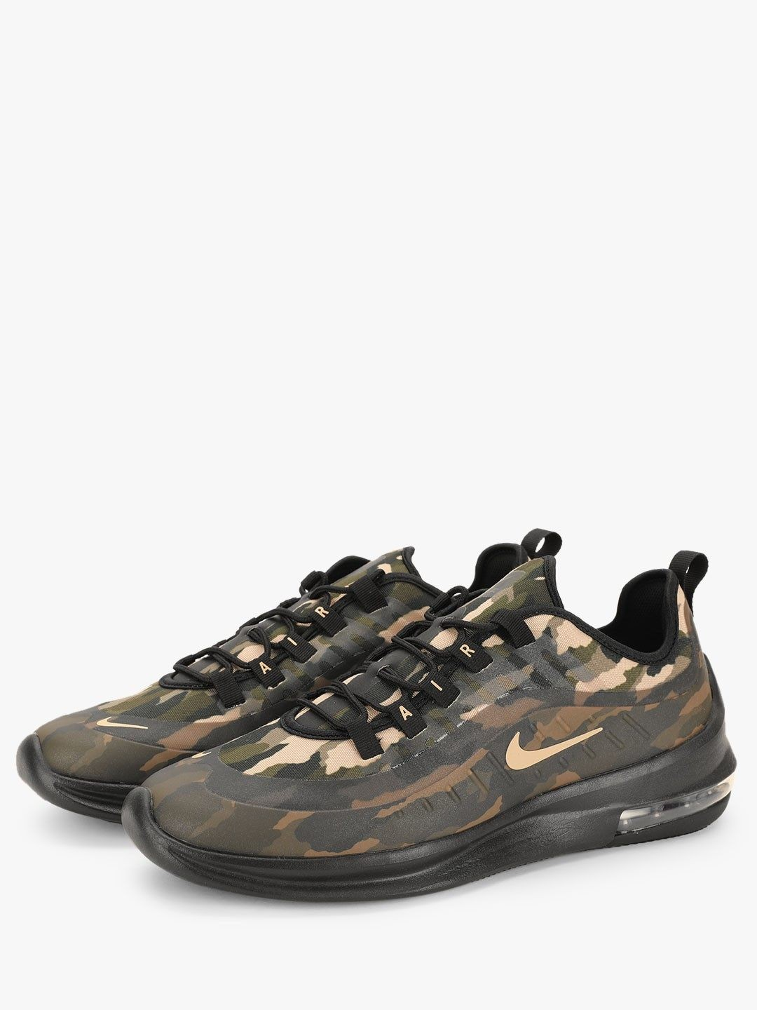 multiple colors info for crazy price Buy Nike Black Air Max Axis Premium Shoes for Men Online in ...