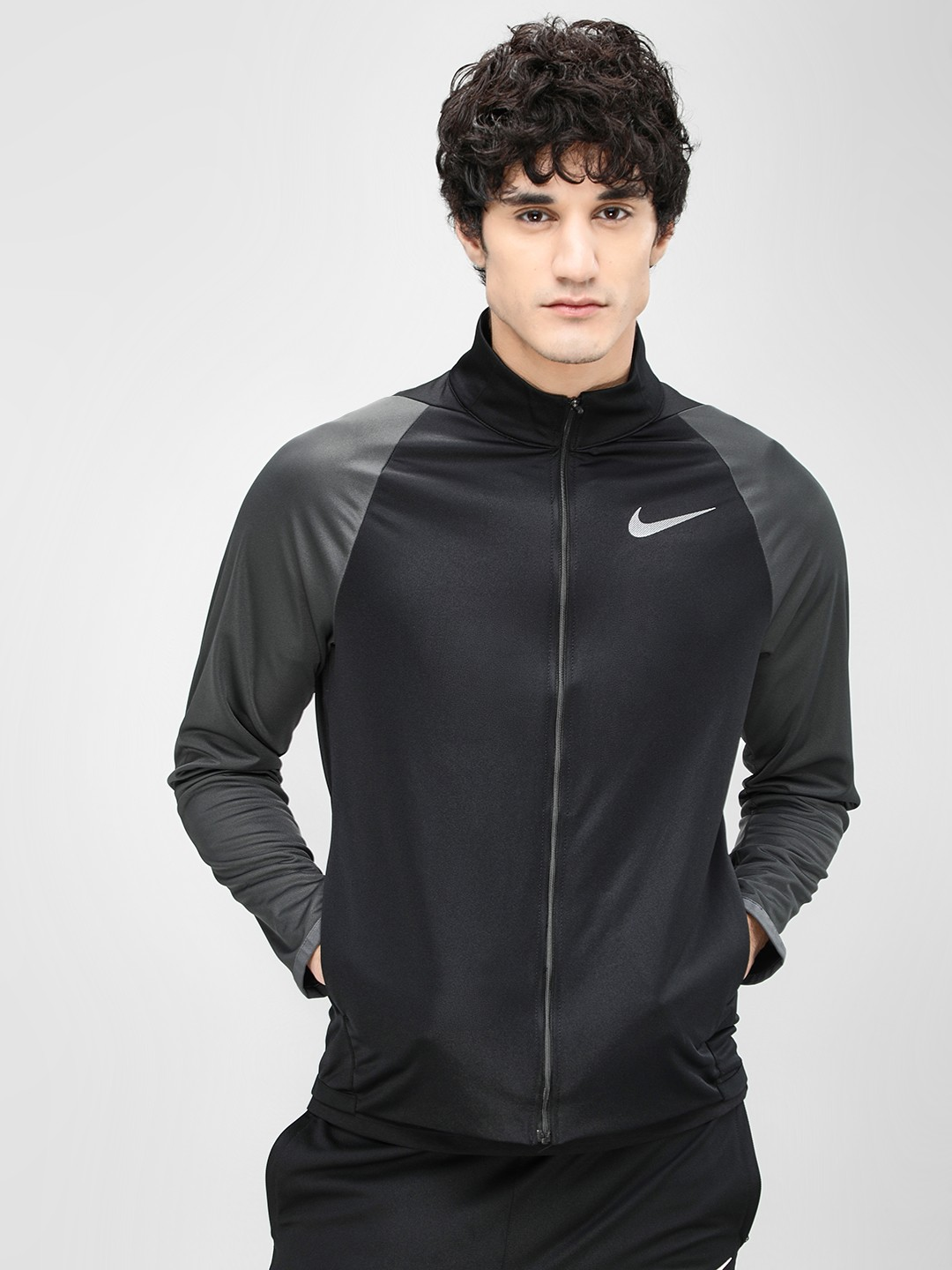 Nike Black Epic Knit Training Jacket 1