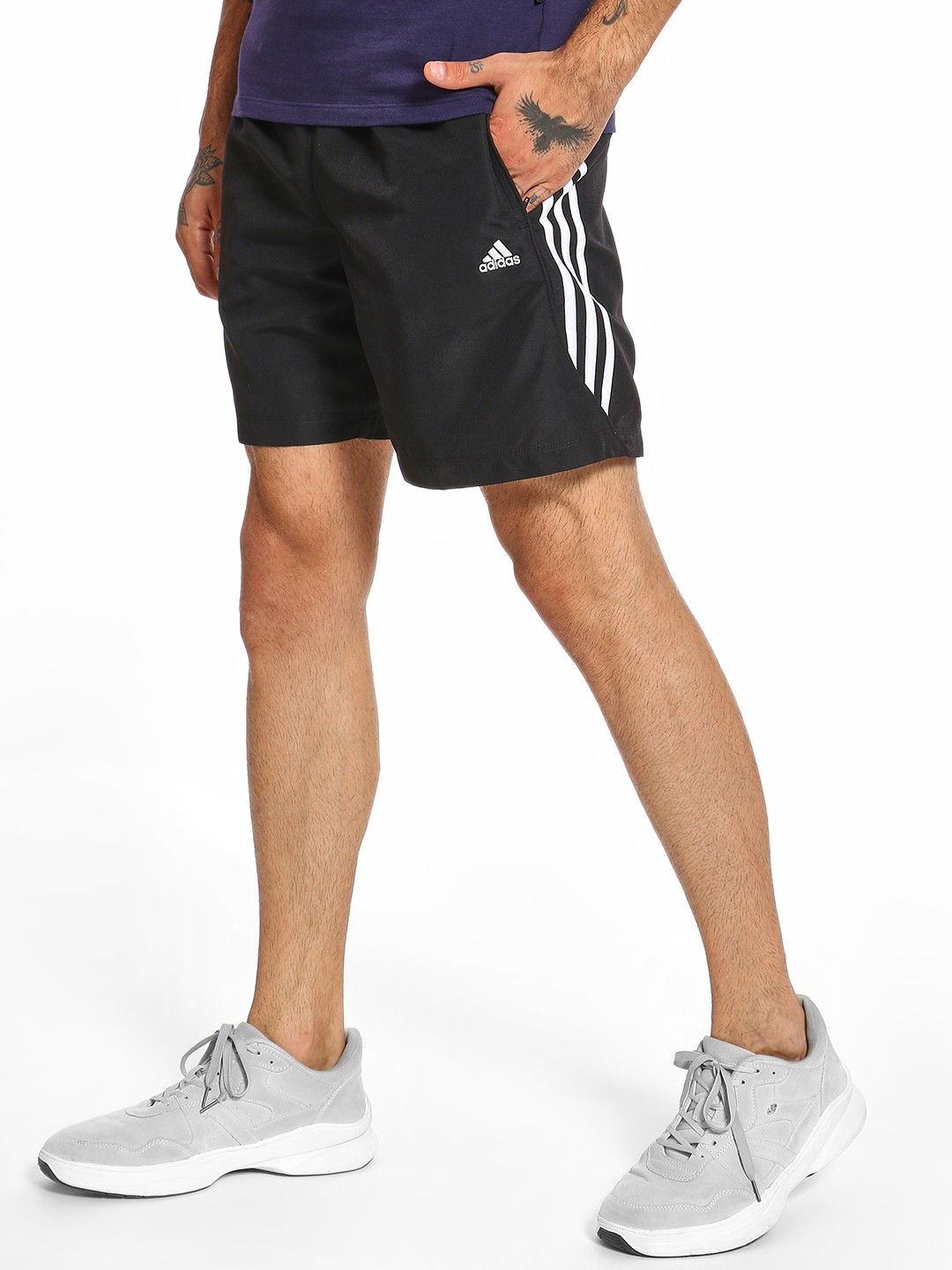 Adidas Multi 3-Stripe Shorts 1