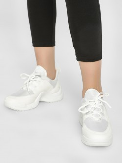Truffle Collection Panelled Chunky Sole Trainers