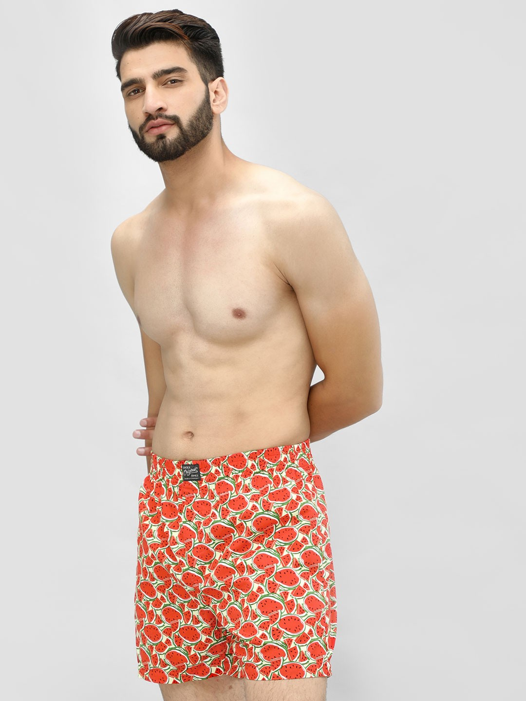 Jack & Jones Red Watermelon Print Boxers 1