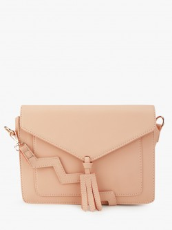 Paris Belle Zig-Zag Strap Sling Bag