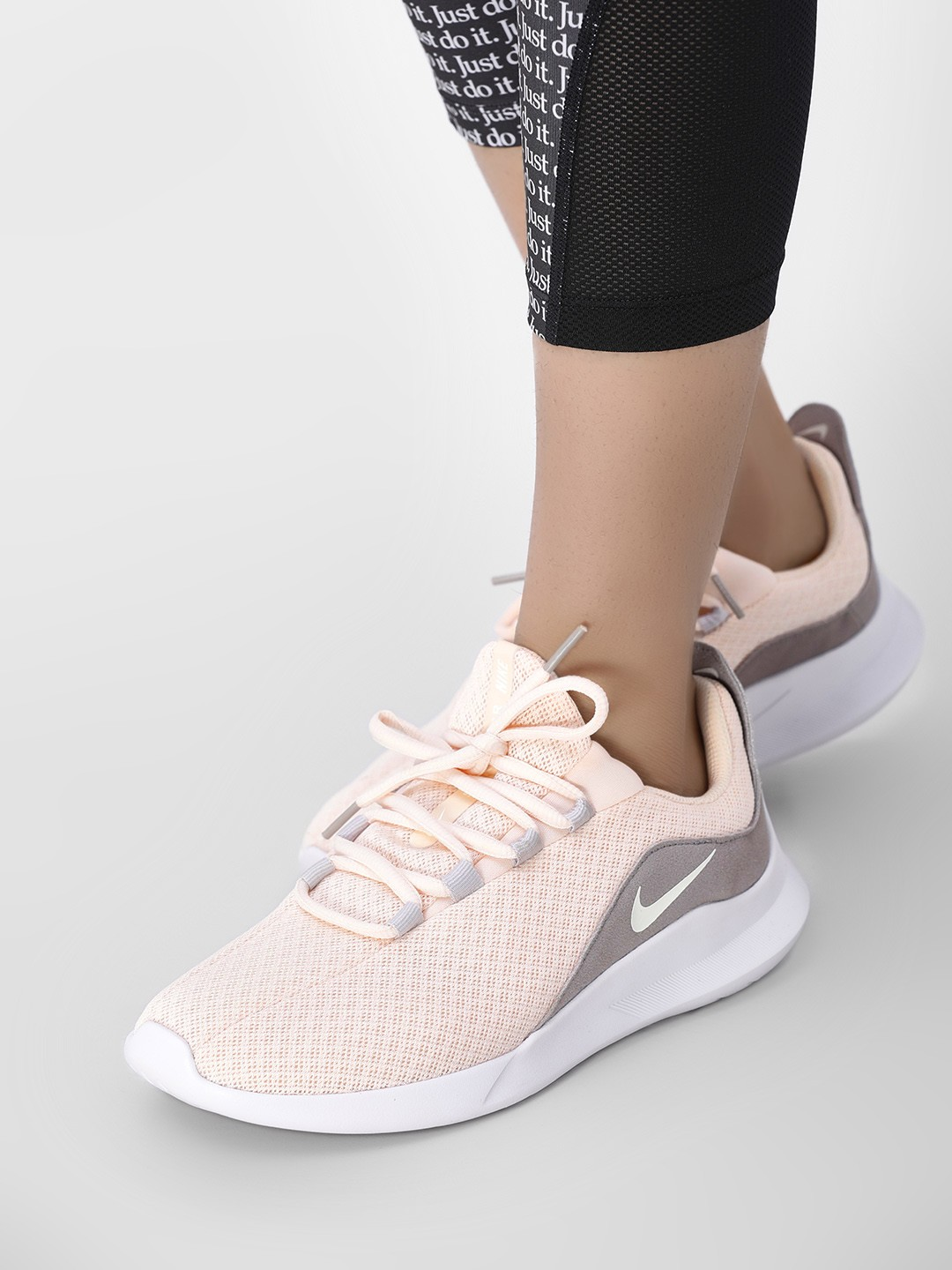 Buy Nike Cream Viale Running Shoes for Girls Online in India