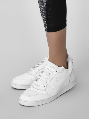 Buy Nike White Ebernon Low Sneakers for Girls Online in India