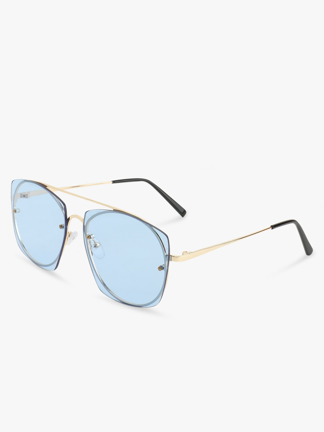 Sneak-a-Peek Blue Tinted Lens Sunglasses 1