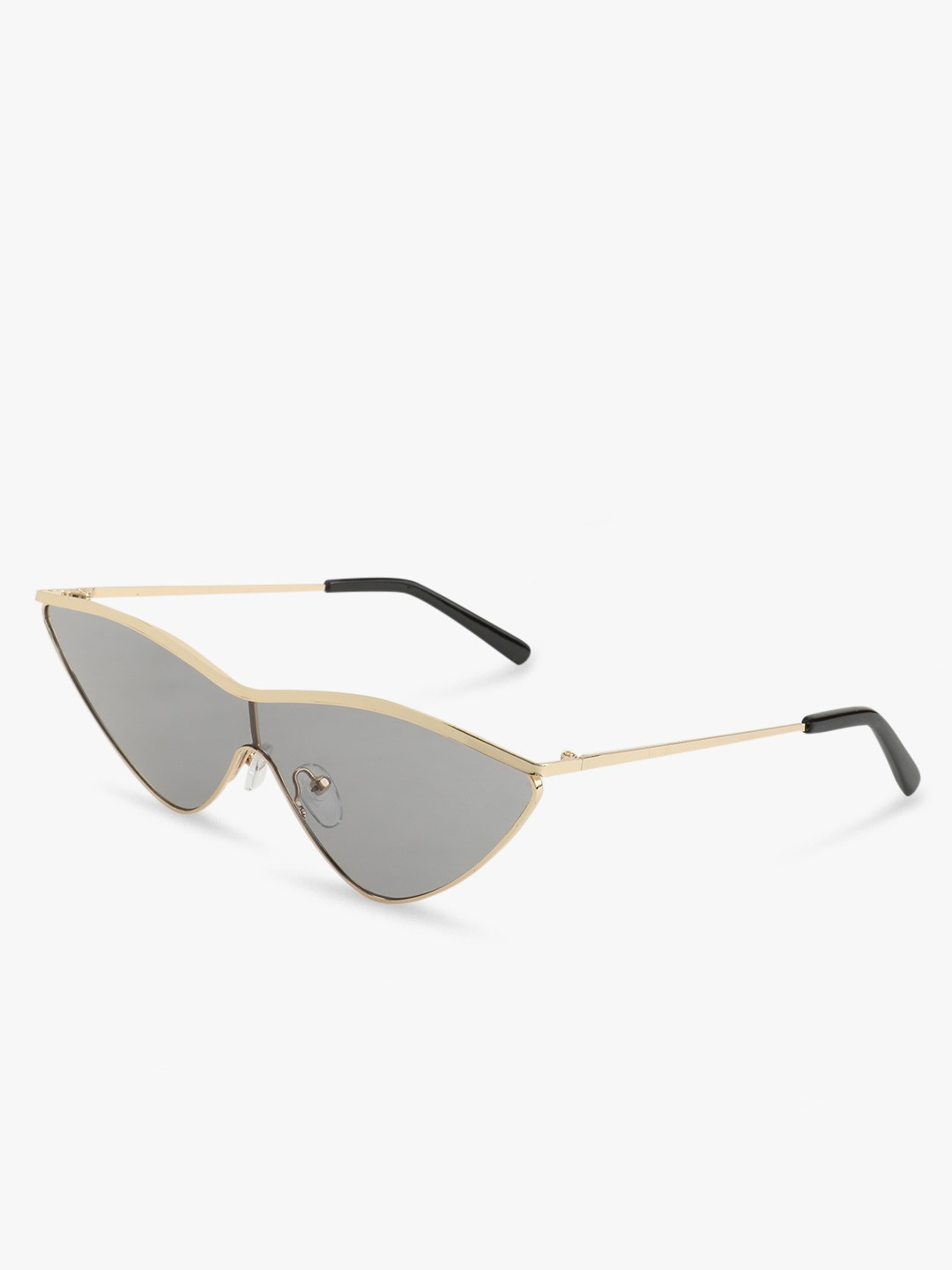 Sneak-a-Peek Gold Tinted Lens Cateye Sunglasses 1