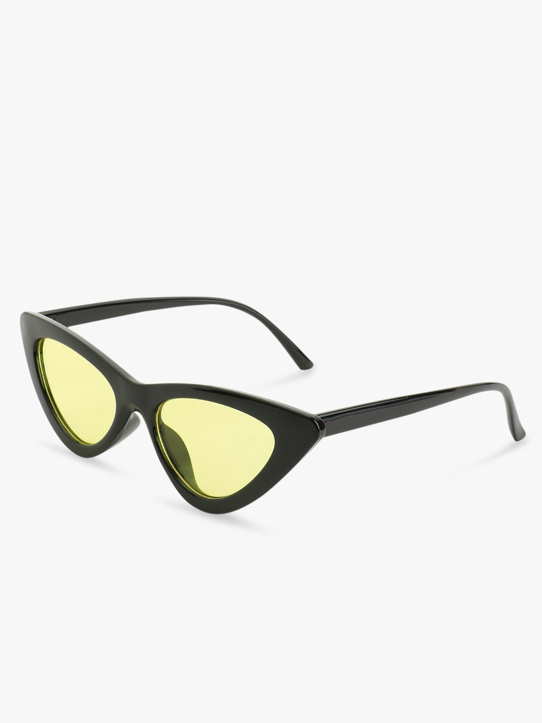Sneak-a-Peek Black Tinted Lens Cateye Sunglasses 1