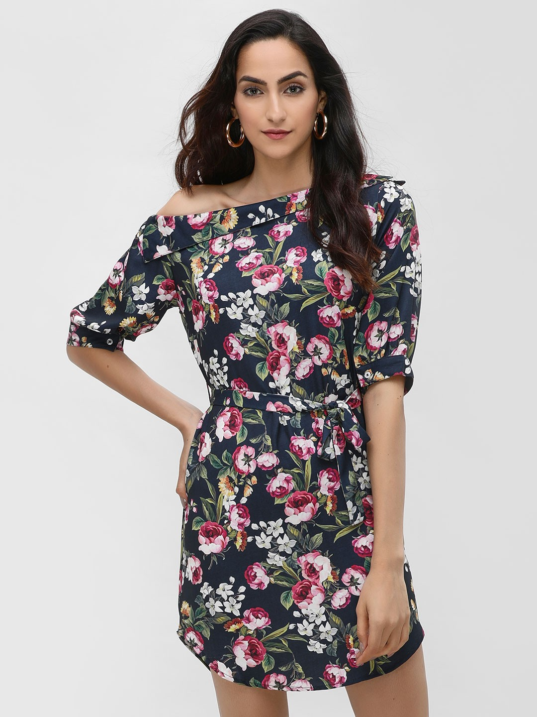 Ri-Dress Multi Floral Printed Shift Dress 1