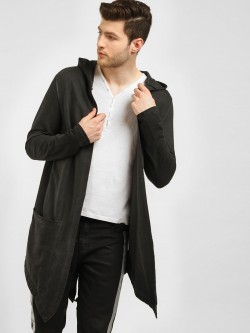 KOOVS Fish Tail Waterfall Cardigan