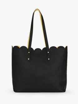 Gusto Scalloped Tote Bag