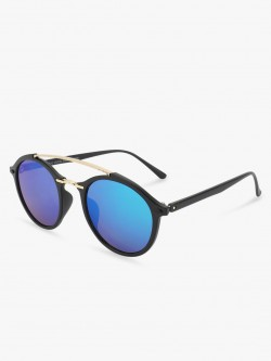 Kindred Coloured Mirror Round Sunglasses
