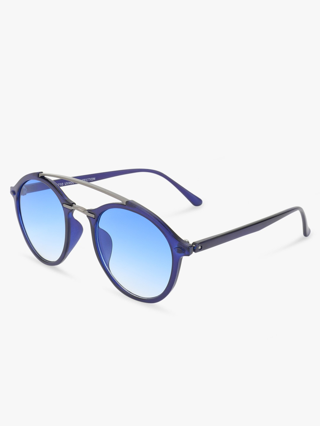 Kindred Blue Coloured Lens Round Sunglasses 1