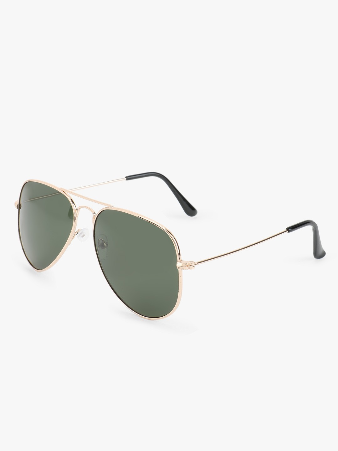 Kindred Green Polorized Pilot Sunglasses 1
