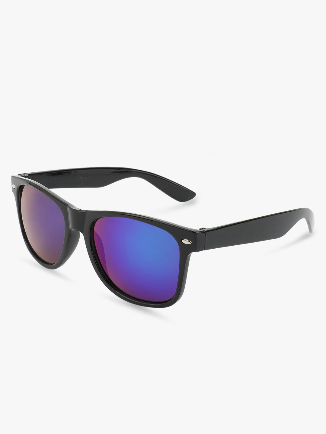 KOOVS Blue Classic Shining Mirror Sunglasses 1