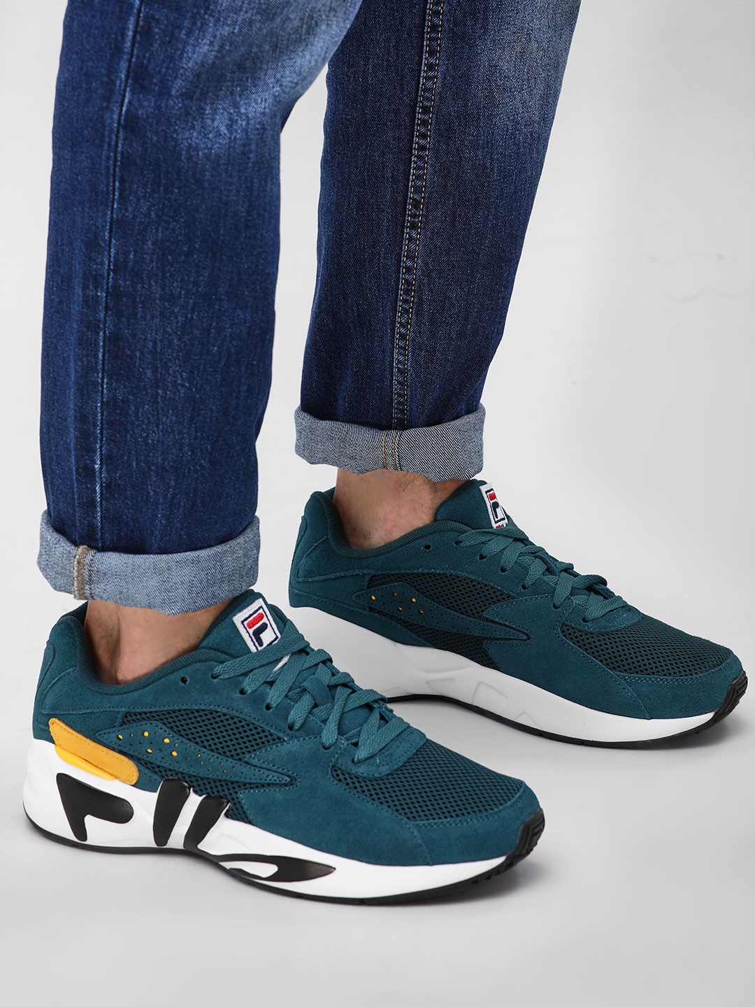 Fila Blue Mindblower Shoes 1