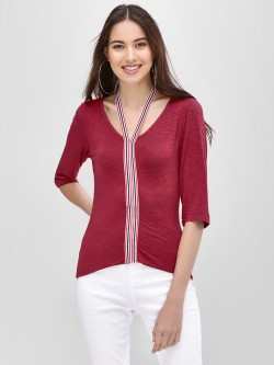 Ri-Dress Blouse With Contrast Detail