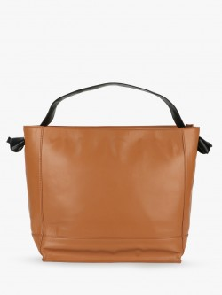 Paris Belle Basic Tote Bag With Knotted Strap