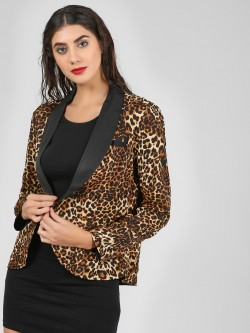 Ri-Dress Leopard Print Blazer