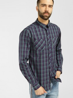 KOOVS Madras Check Casual Shirt